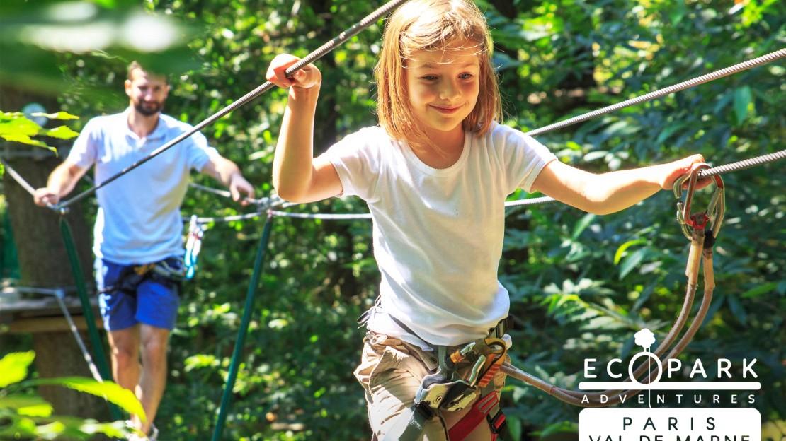 Ecopark-Adventures-Paris-Val-de-Marne-passerelle-enfant